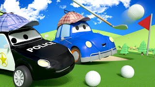 The Window BREAKER - The Car Patrol in Car City l Cartoons for Children