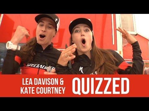 QUIZZED: Lea Davison and Kate Courtney