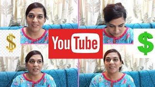 Sharing my Youtube Earning   How to Make Money on Youtube   Urdu/hindi   Pakistani Mom Earning