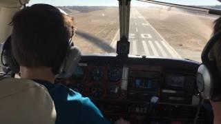 XPlane 11 Kid Lands A Real Plane!