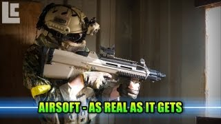 Airsoft - Integrity Tactical Solutions Extreme Realism! (Airsoft F2000 Gameplay/Commentary)