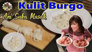 Kulit Burgo Makanan Palembang Asli