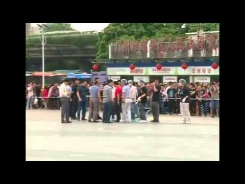 Six wounded in knife attack in China