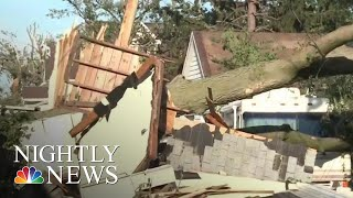 Tornadoes Tear Through Iowa Causing Destruction And Injuries | NBC Nightly News