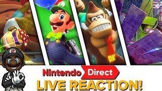 LUIGI IN SUPER MARIO ODYSSEY?!    Nintendo Direct Mini 1.11.18 LIVE REACTION!