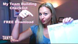 My 10 Step Team Building Checklist - Free Download