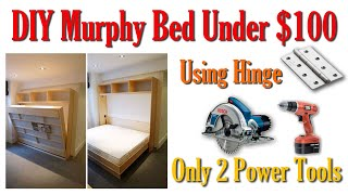 DIY Murphy Bed Without Expensive Hardware | Homemade Wall Bed