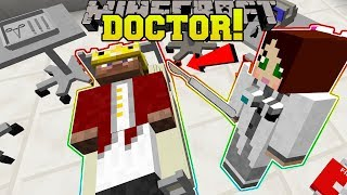 Minecraft: WE BECOME DOCTORS!! - MEDICAL TRAINING SCHOOL - Modded Map