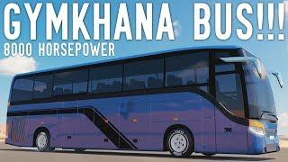 8000HP+GYMKHANA+PARTY+BUS+-+Forza+Horizon+3
