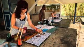 Batik Workshop conducted by Henderson Reece
