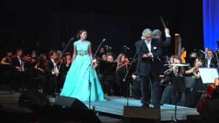 Placido Domingo, Aida Garifullina - Tutte Le Feste Al Tempio - Rigoletto & Gilda duet (G.Verdi)