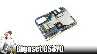 Guía del Gigaset GS370: Cambiar Placa Base