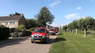 Brandweer Defilé 2013 Harlingen