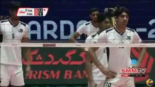 Pakistan Vs Thailand Volleyball Match 2017 Asian men