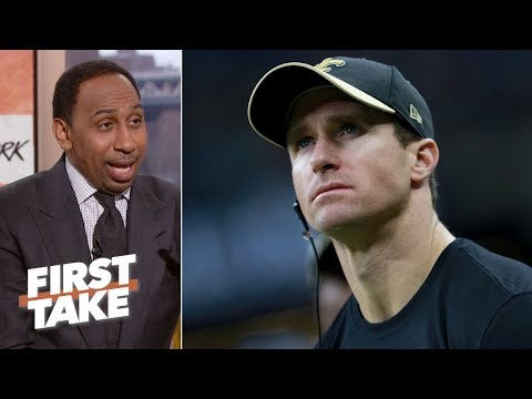 Leaving Drew Brees off top 5 playoff QBs list was a 'mistake' – Stephen A. Smith First Take