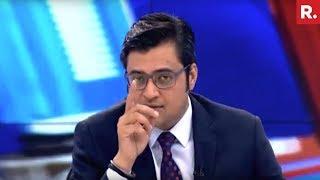 Hafiz Saeed WARNS India Of An Attack   The Debate With Arnab Goswami
