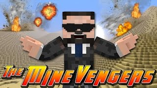 Minecraft MineVengers - THE FIRST EVER IRONMAN!!!
