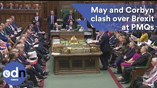 Full video: Theresa May and Jeremy Corbyn clash over Brexit at PMQs