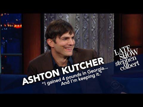 Ashton Kutcher Examines President Trump s Tweeting Style