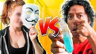 FACE REVEAL? You Won't Do It Challenge Versus Evil Hacker Girl **Gross**