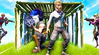 When a CELEBRITY is in your game.. (Fortnite Battle Royale)