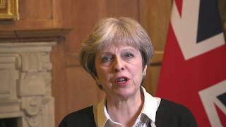 Prime Minister Theresa May has made a statement on Syria