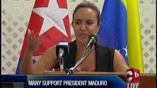 JTUM & MSJ Support Maduro