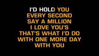 Diamond Rio - One More Day (Karaoke)