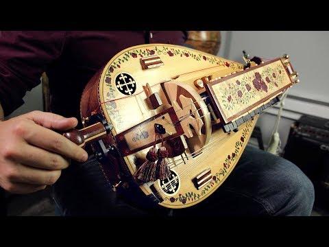 The Hurdy Gurdy medieval wheel instrument