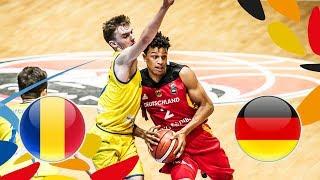 Romania v Germany - Full Game - FIBA U20 European Championship 2018