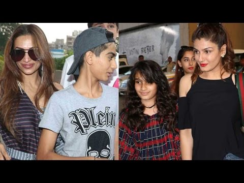 Hot Moms Of Bollywood Attend Justin Bieber Concert With Kids