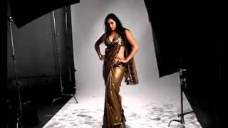 Namitha photoshoot in sleeveless saree