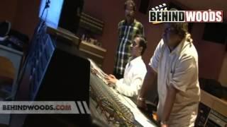 Making of 'AMMADI AMMADI' song in Desingu Raja.