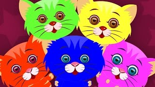 five little kittens   three little kittens   nursery rhymes   kids songs   baby rhyme