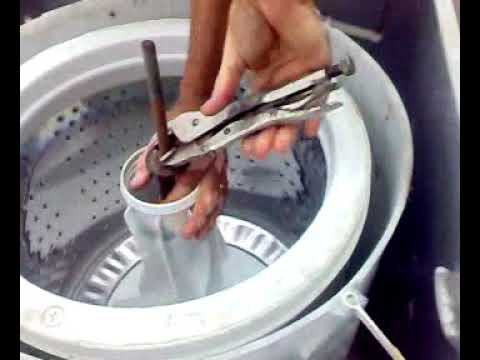Desmontando lavadora brastemp 10 kg para revisão