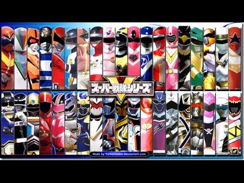 All Super Sentai and Power Rangers Morph Henshin after zyuranger