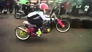 ▶ Indri  Barbie Drag Bike Mio FFA 300cc