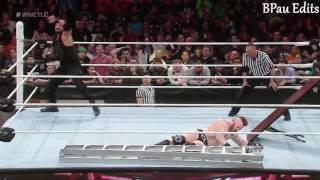Roman Reigns vs. (c) Sheamus WHC TLC Match Highlights - WWE TLC 2015 HD