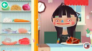 Fun Kitchen Cooking Kids Games - Toca Kitchen 2 - Learn how to make Food, Fun Children Games