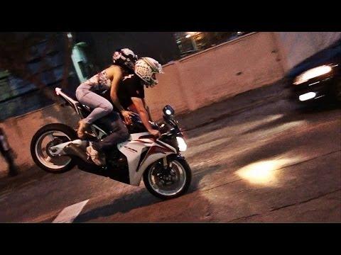 Motos esportivas acelerando em Curitiba Parte 28