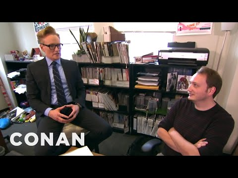 Conan Gives Staff Performance Reviews CONAN on TBS