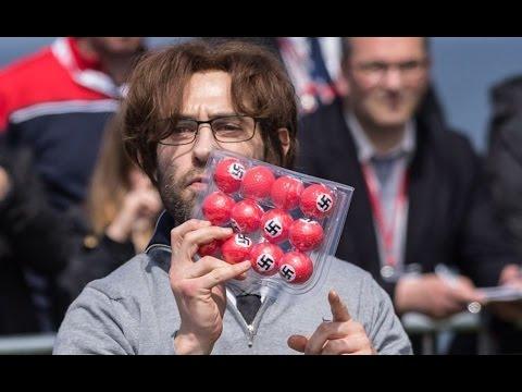 Xxx Mp4 Brit Comedian OWNS Trump With Nazi Golf Ball Stunt 3gp Sex