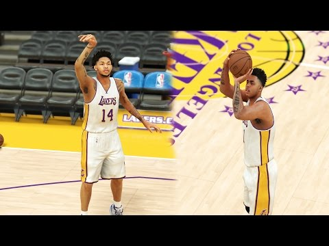 Can Brandon Ingram Beat D'Angelo Russell in Horse? - NBA 2K17 Funny Challenge