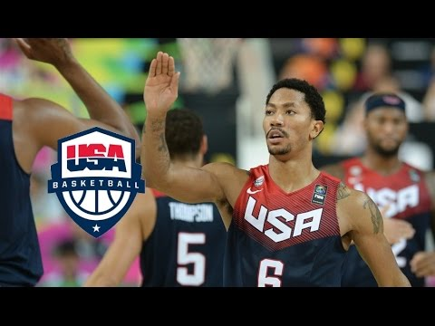 watch Team USA Full Highlights vs Slovenia 2014.9.6 - Just Unfair, Every Play!
