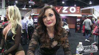 Highlights from SEMA Auto Show - Cars & Hot Girls