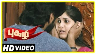 Pugazh Tamil Movie | Scenes | Vikram Supports Minister | Marimuthu Warns Jai | Surabhi