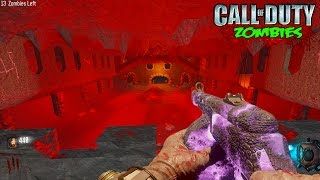 BLACK OPS 3 ZOMBIES - DEMON DEFENSE BUYABLE ENDING ZOMBIES GAMEPLAY! (Custom Zombies Mods)