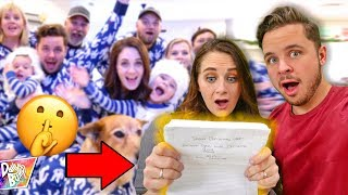 Opening Secret Christmas Letter From 5 YEARS AGO! 🤫 (EMOTIONAL SURPRISE!)