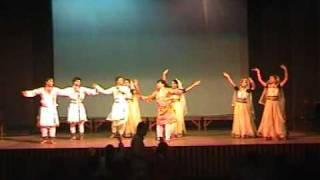 KATHAK TARANA FUSION BY ANG TARRANG GROUP choreographed by SRI AMAR RAJ BASNETH
