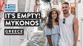 WHAT MYKONOS IS REALLY LIKE! City Center Old Town Mykonos | Greece Travel Vlog